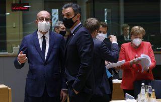 European Union Merkel Macron