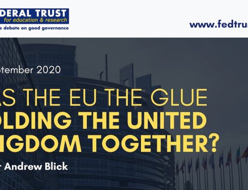Was the EU the Glue Holding the United Kingdom Together?