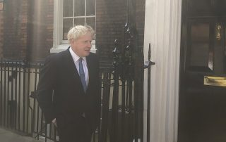 Boris Johnson Number 10