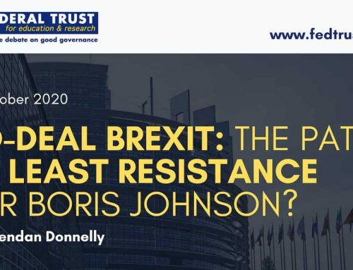 No-Deal Brexit: The Path of Least Resistance for Boris Johnson?