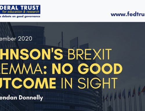 Video podcast: Johnson's Brexit Dilemma – No good outcome in sight