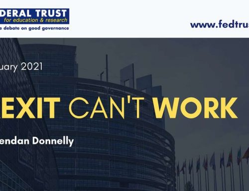 Video podcast: Brexit can't work
