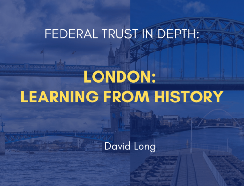 London: Learning from History