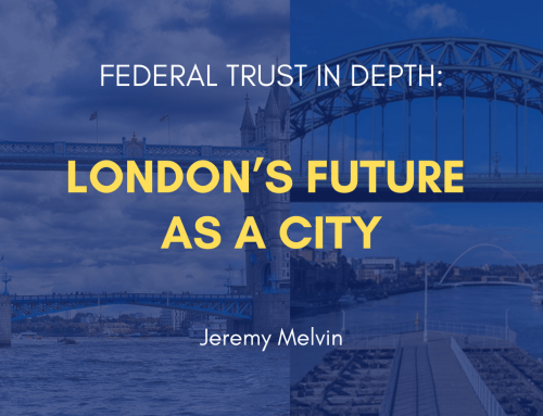 London's Future as a City