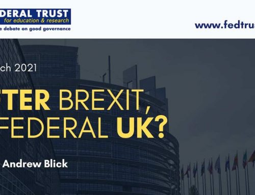 VIDEO: After Brexit, a federal UK?