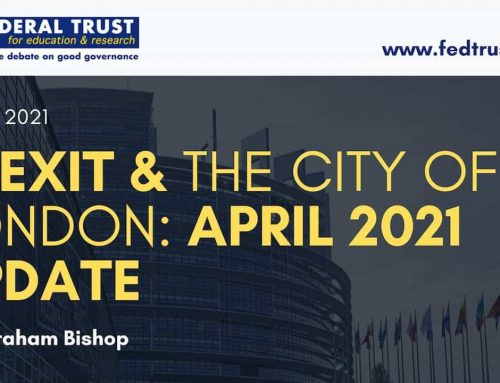 Video: Brexit and the City of London: April 2021 Update