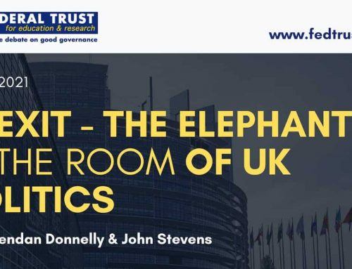 """Video: """"Brexit – The Elephant in the Room of UK Politics"""""""