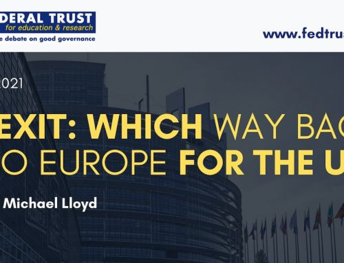"""Video: """"Brexit – Which way back into Europe for the UK?"""""""