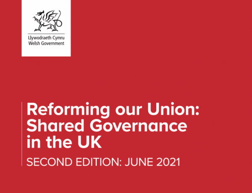 """POSTPONED: """"Reforming the Union – The Welsh Perspective"""""""