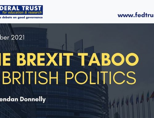 "Video: ""The Brexit Taboo in British Politics"""